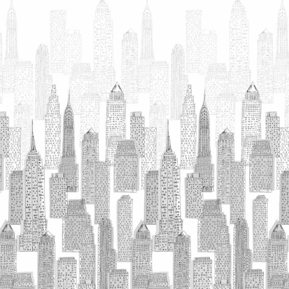 НЬЮ-ЙОРК серый